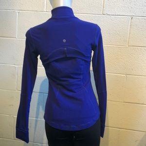 lululemon athletica Jackets & Coats - Lululemon blue Define jacket sz 6 59861